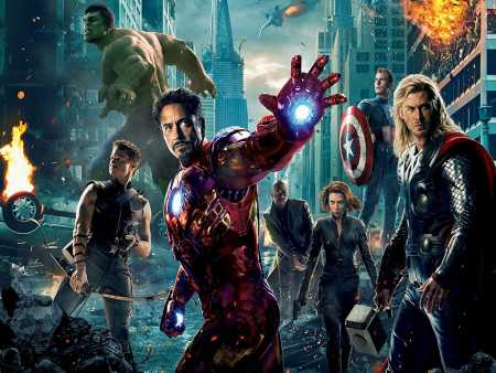 puzzle online filmy Marvel Avengers