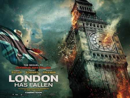puzzle filmy plakat London has fallen